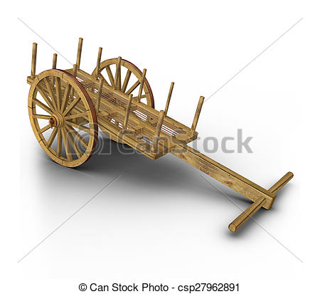 Stock Photographs of Bullock cart.