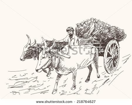 ox Cart Clip Art (13+).