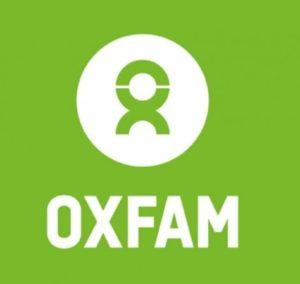 Oxfam logo.