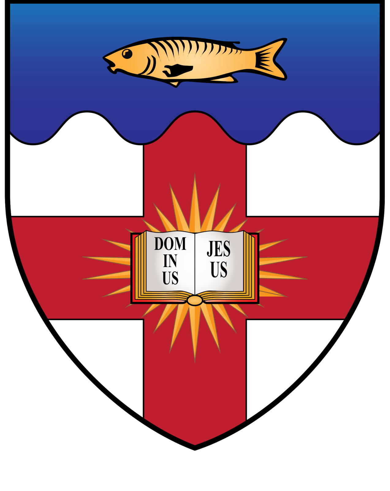 HERALDRY: Regent's Park College, an Oxford PPH.