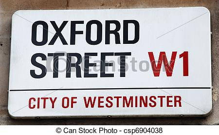 Pictures of Oxford Street.