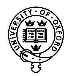 University of Oxford badge logo.