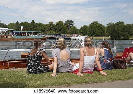 Stock Photography of England, Oxfordshire, Henley.