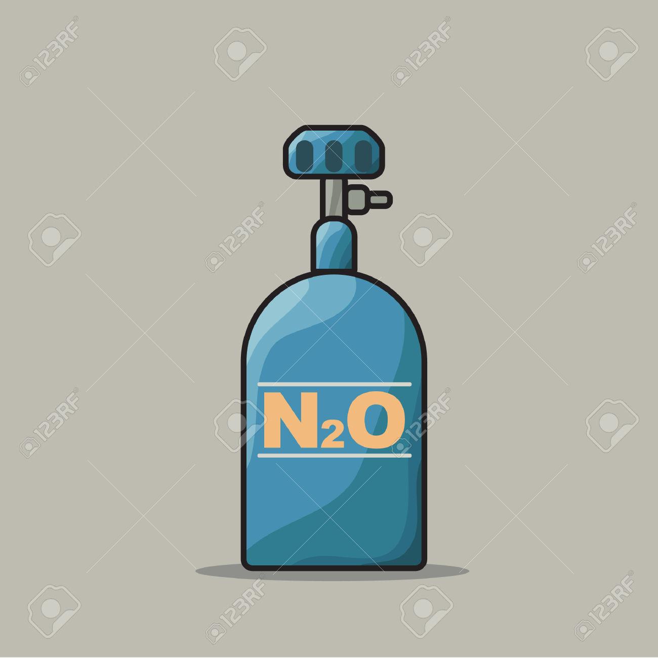 Nitrous Oxide Clip Art.