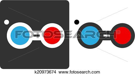 Clipart of Nitric oxide (NO) free radical molecule, flat icon.