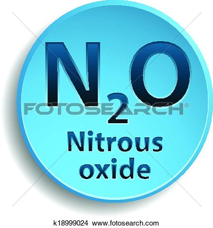Clipart of Nitrous oxide k18999024.