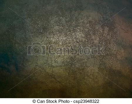 Clip Art of Oxidized metallic texture (background). Template.