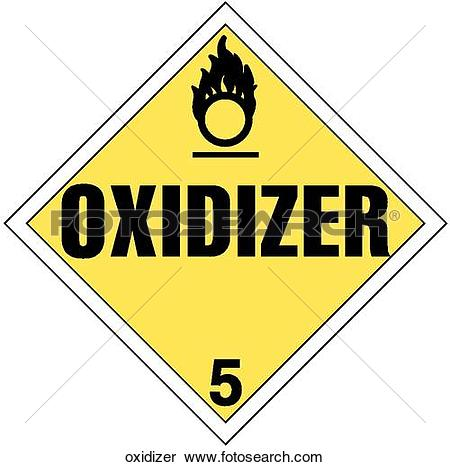 Stock Illustration of Oxidizer oxidizer.