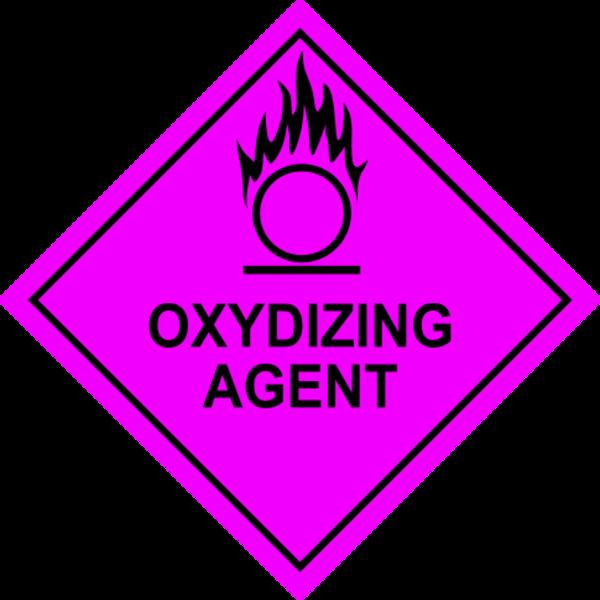 Oxidizing Agent Sign.