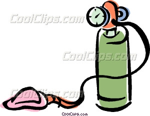 Medical Oxygen Clipart.