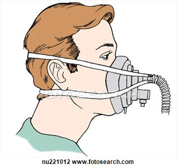 Clipart oxygen mask.