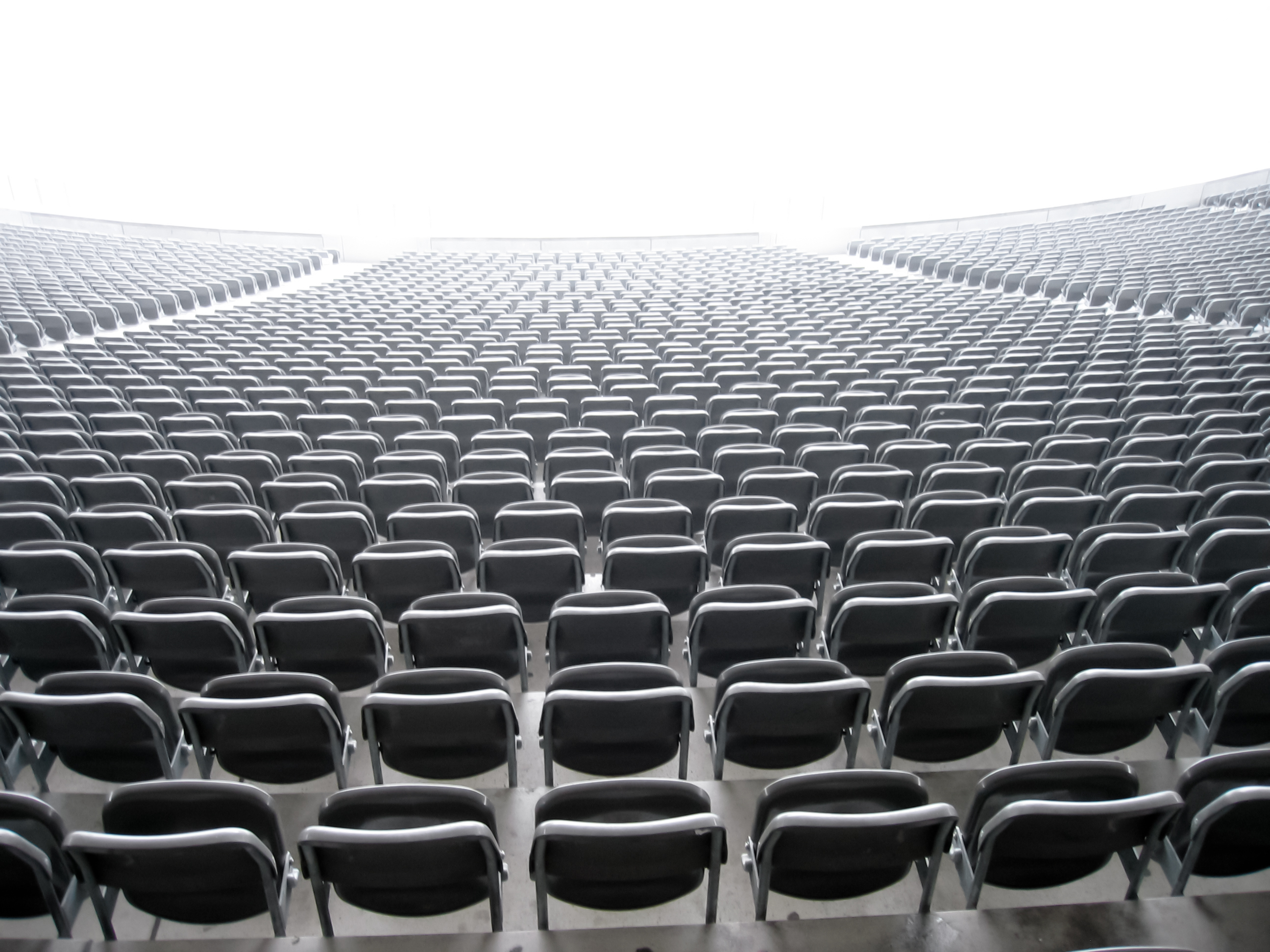 Audience In Chairs Clipart.
