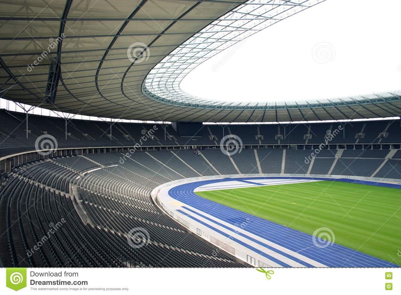 Olympiastadion Berlin Editorial Photography.