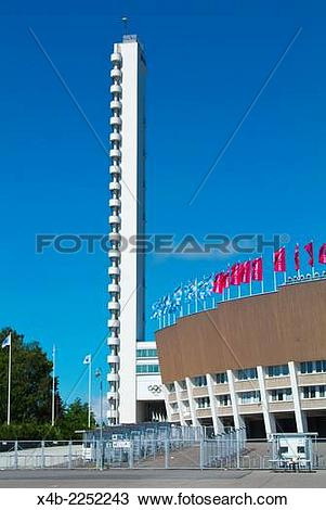 Stock Photo of Olympiastadion, the Olympic Stadium (1952), by Yrjo.