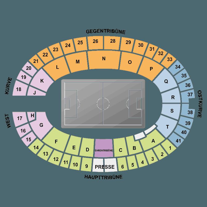 Hertha BSC vs FC Ingolstadt 04 Olympiastadion Berlin Berlin.