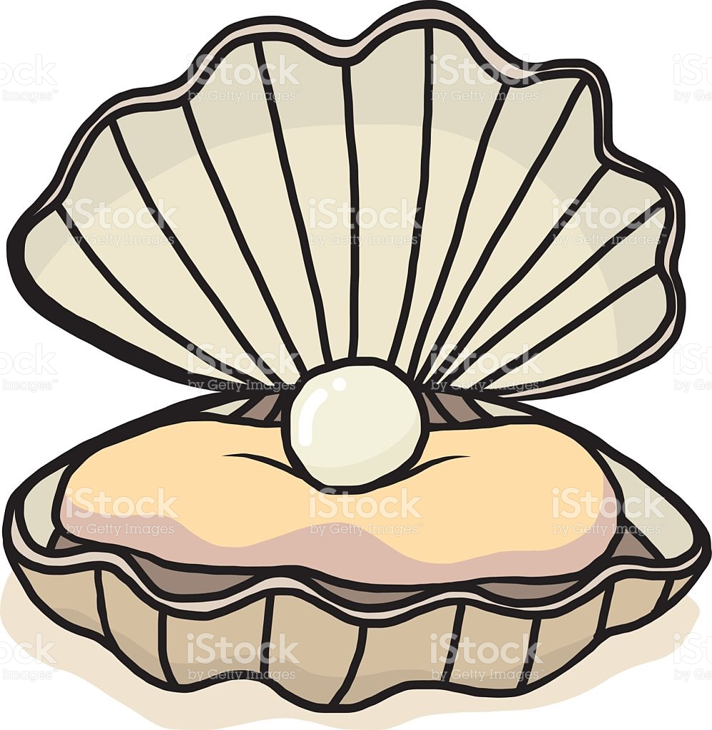 Oyster clipart pearl diving.