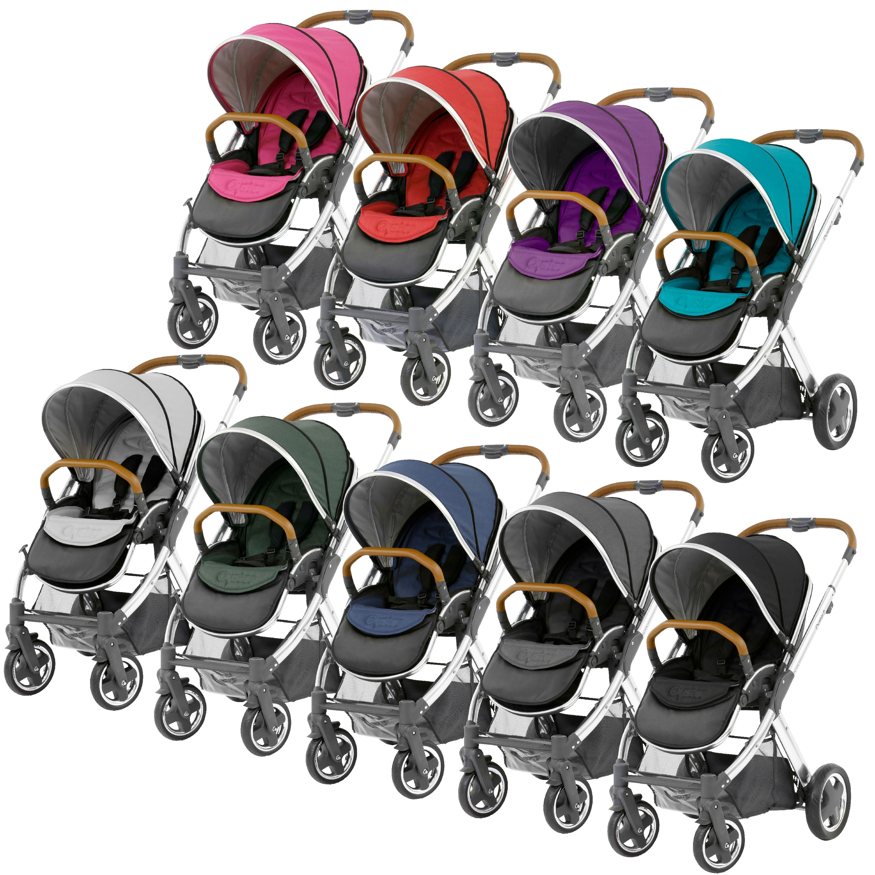 BabyStyle Oyster 2 Pushchair And Colour Pack.