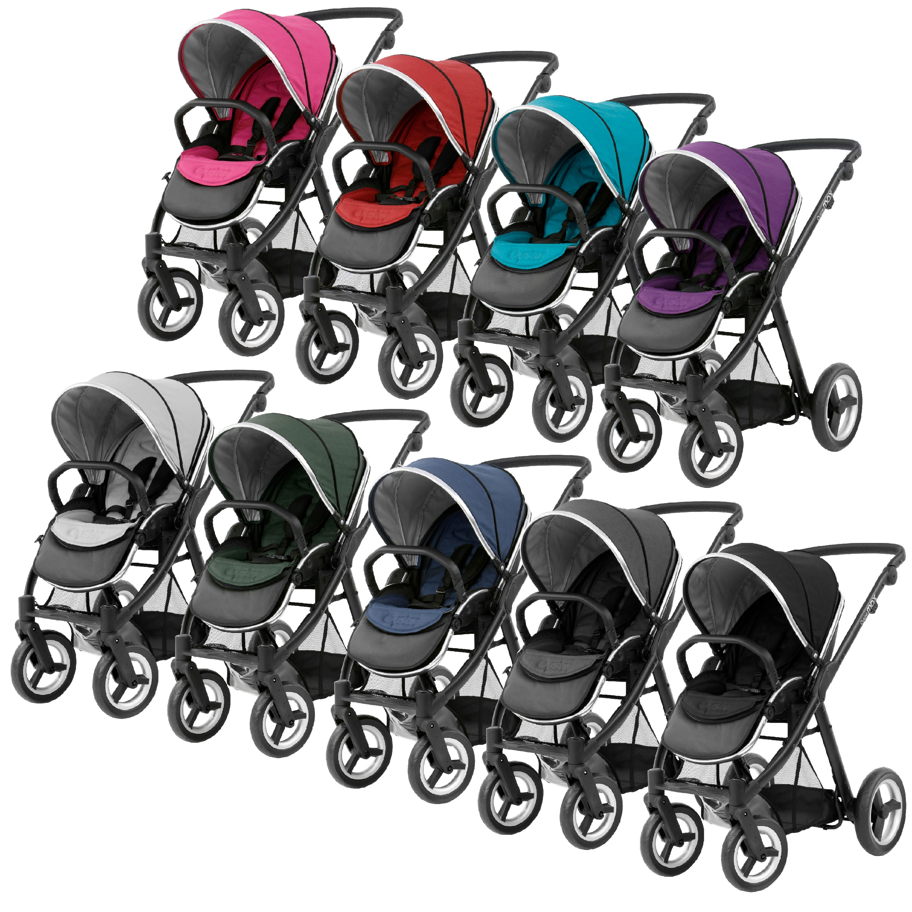 BabyStyle Oyster Max Baby / Child's Pushchair And Colour Pack.