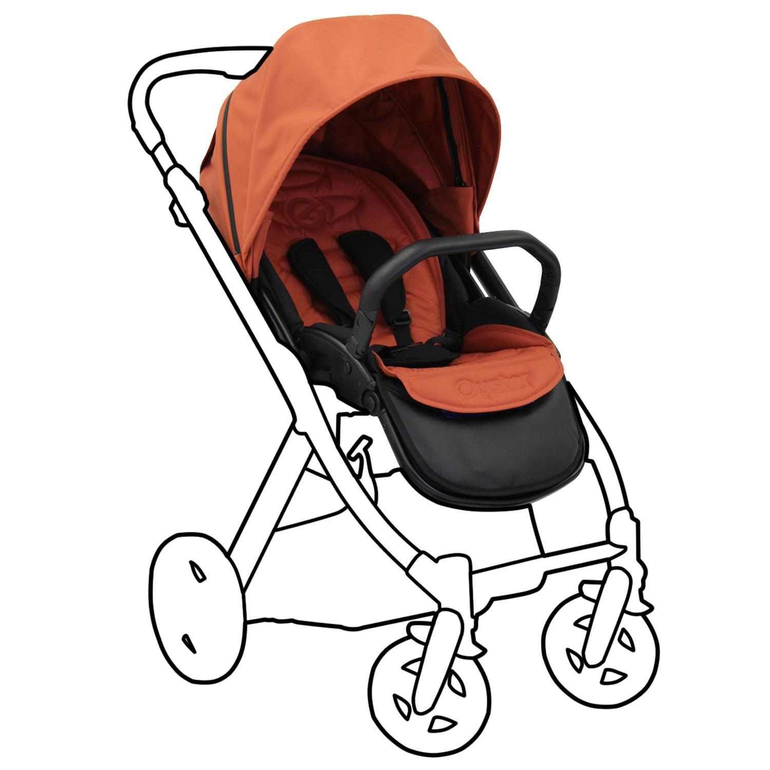 Babystyle Oyster Stroller Colour Pack Spice Kiddicare.com.