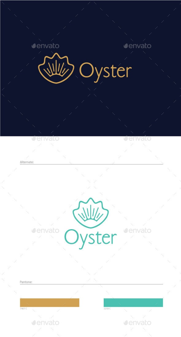 Oyster Logo Template.