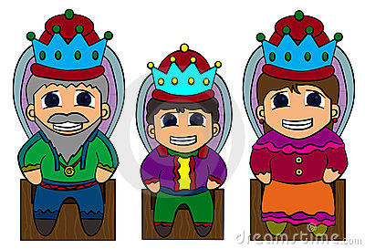 Royal family clipart.