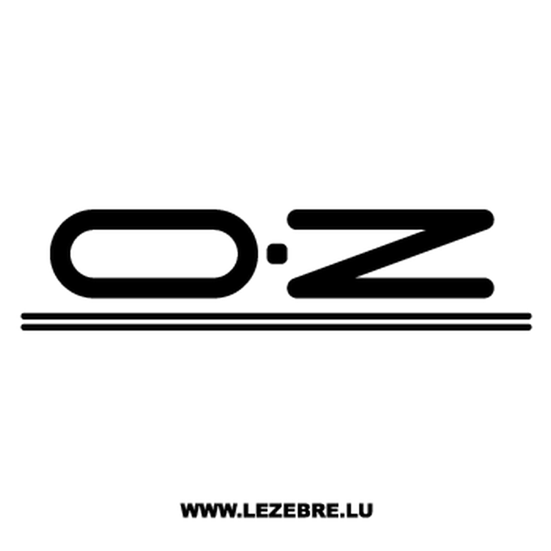 OZ Logo Decal.