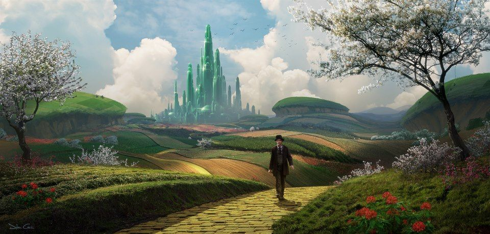 The Art of Oz the Great And Powerful.