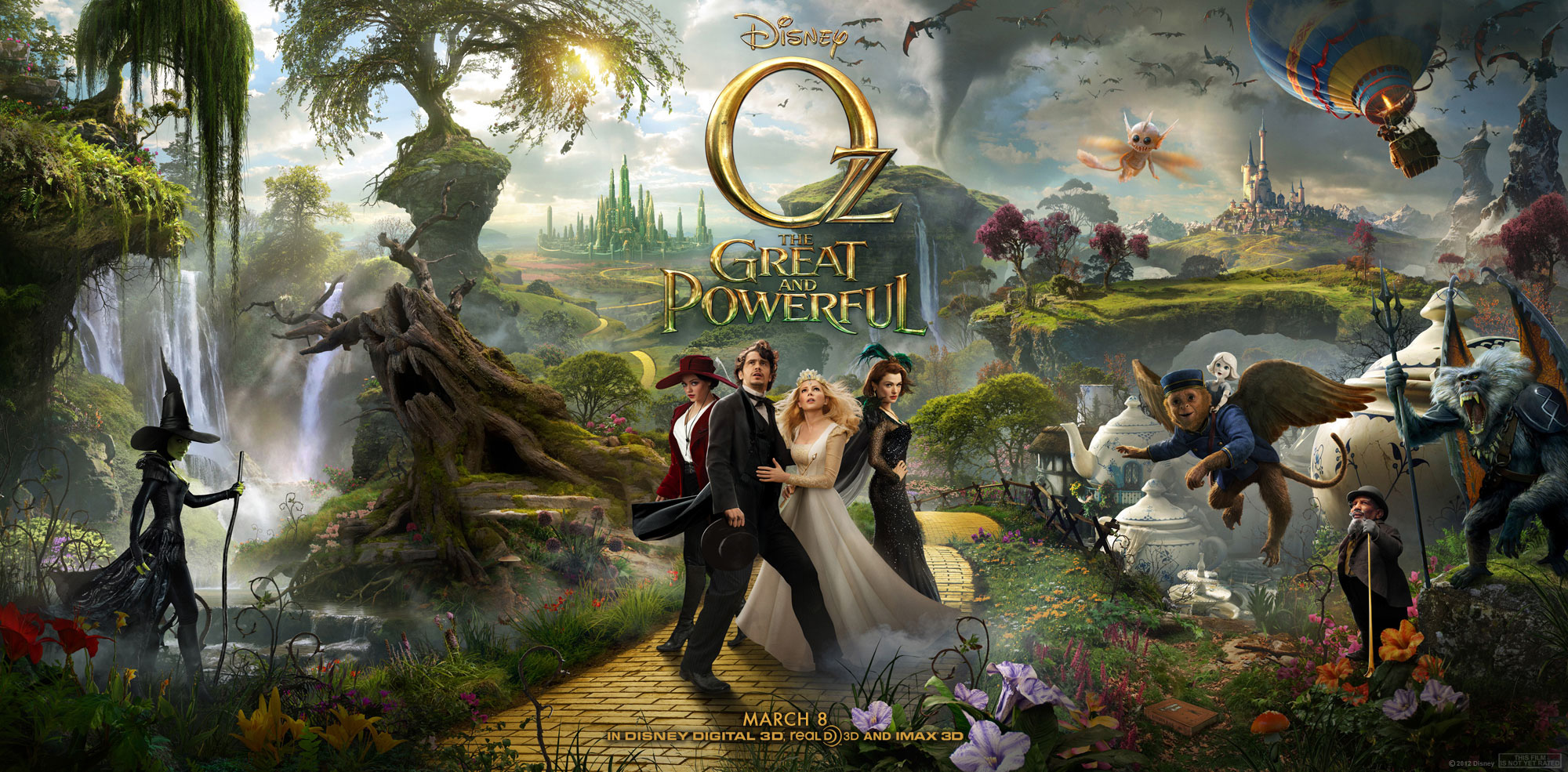 Oz The Great And Powerful Poster Hd Wallpapers.