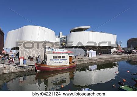 Stock Photo of Ozeaneum, Stralsund, Mecklenburg.