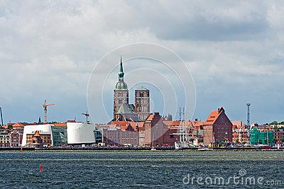 Church St. Nikolai In Stralsund, Germany Royalty Free Stock Photo.