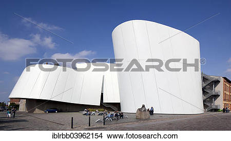 """Stock Photo of """"Natural history and maritime museum Ozeaneum."""