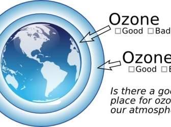 Ozone Layer Clip Art.
