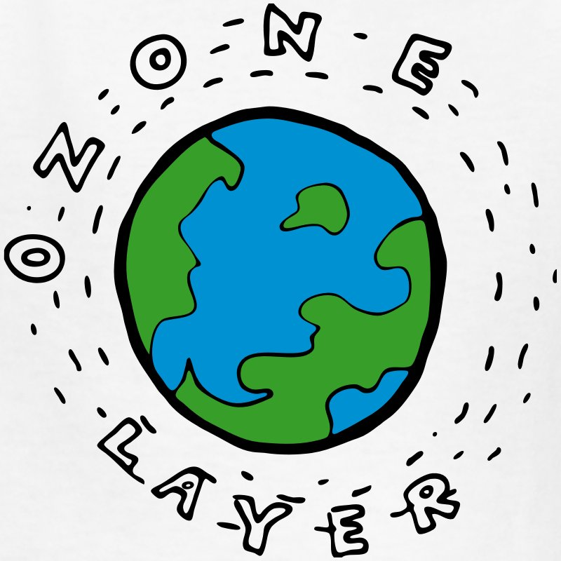 Earth's Ozone Layer Diagram for Kids T.