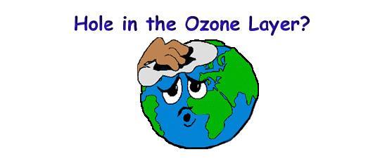 Ozone Depletion Cartoon.