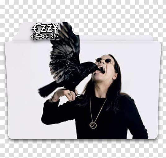 Ozzy Osbourne Folders, Ozzy Osbourne folder icon transparent.