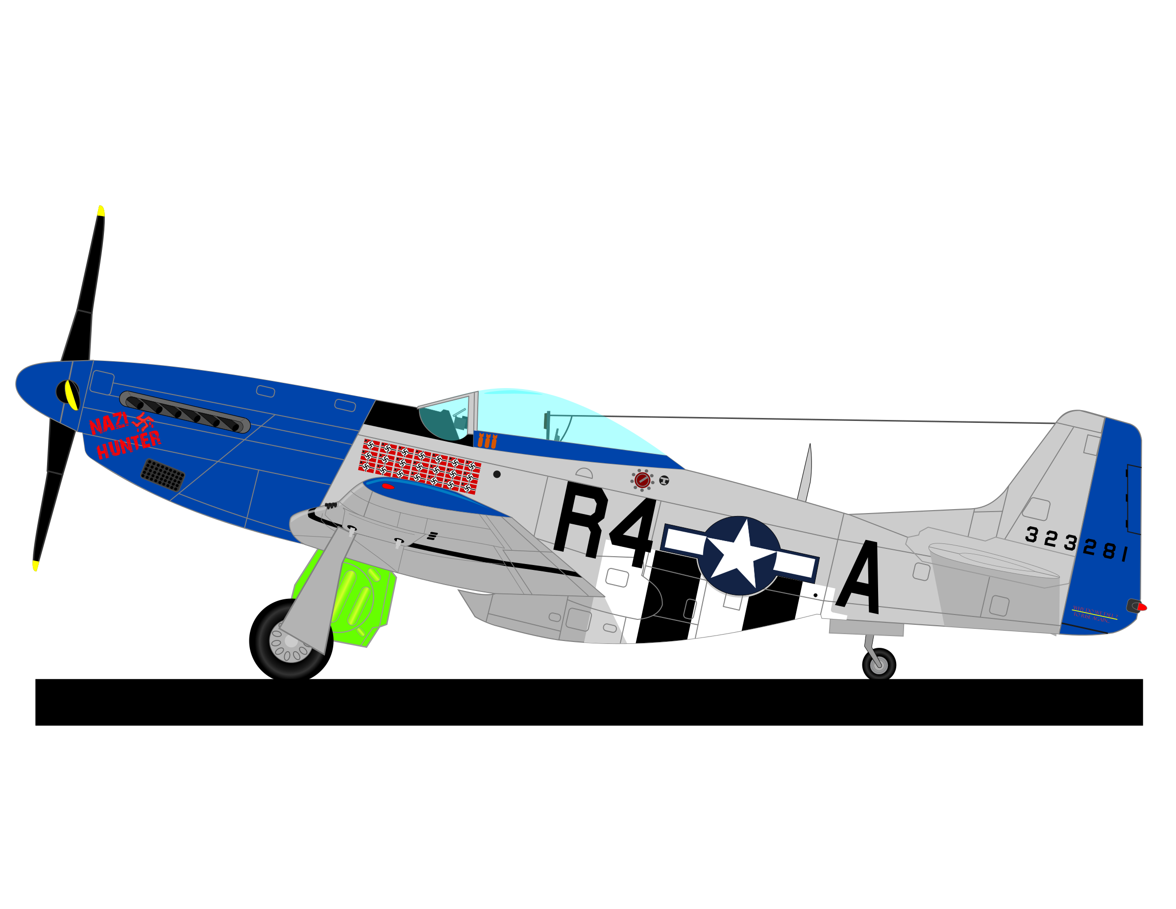 P 51 Clipart Clipground