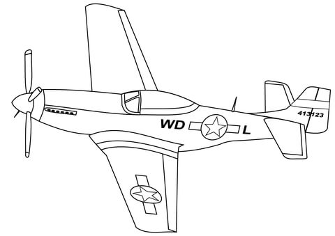P 51 mustang clipart 5 » Clipart Station.