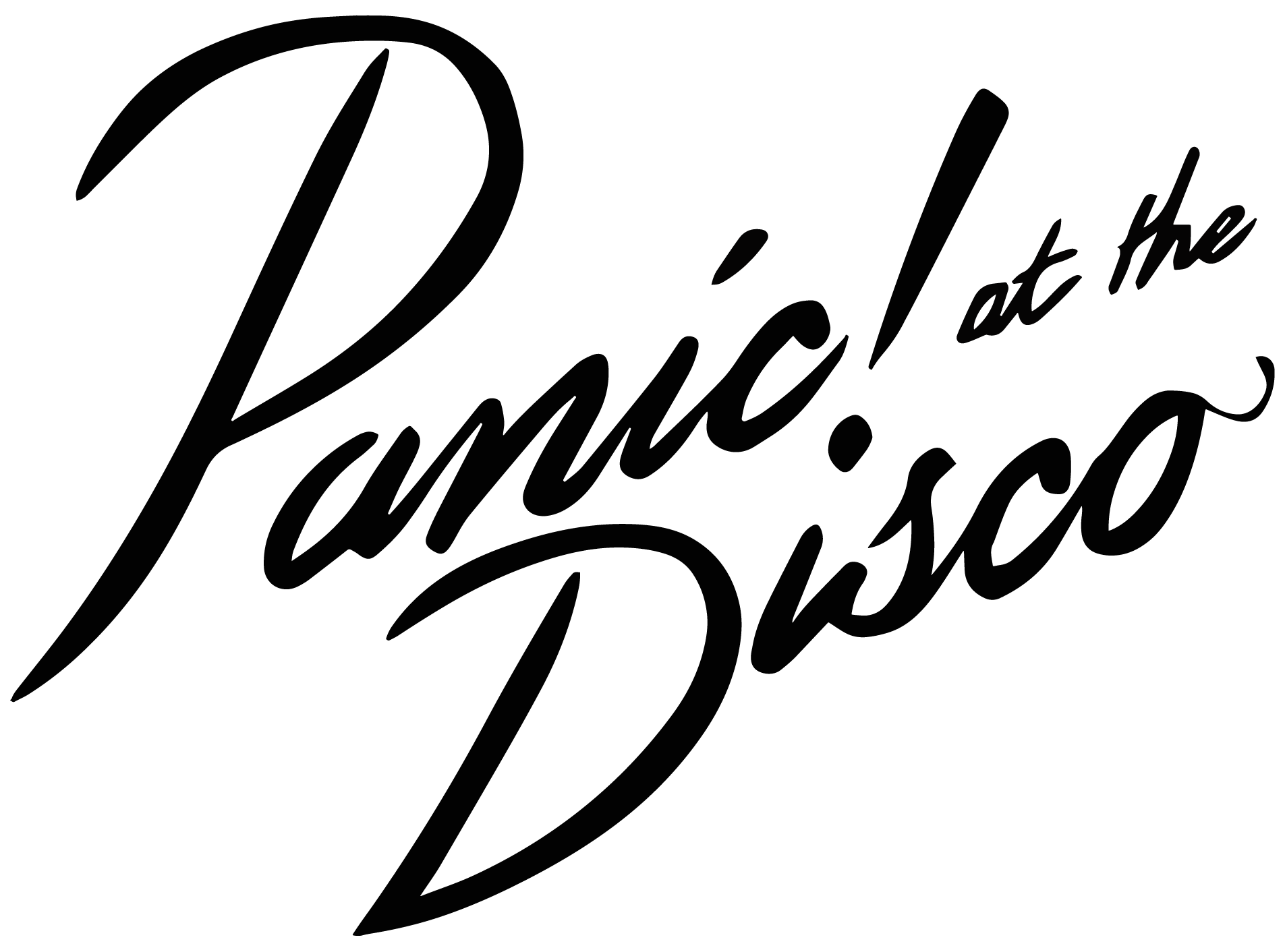 Meaning Panic at the Disco logo and symbol.