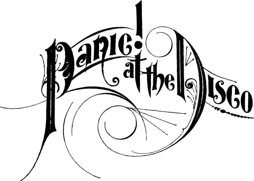 Panic at the Disco Logo / Music / Logonoid.com.