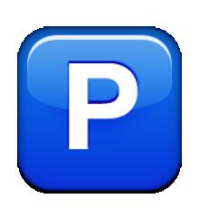 Ios Emoji Negative Squared Latin Capital Letter P.