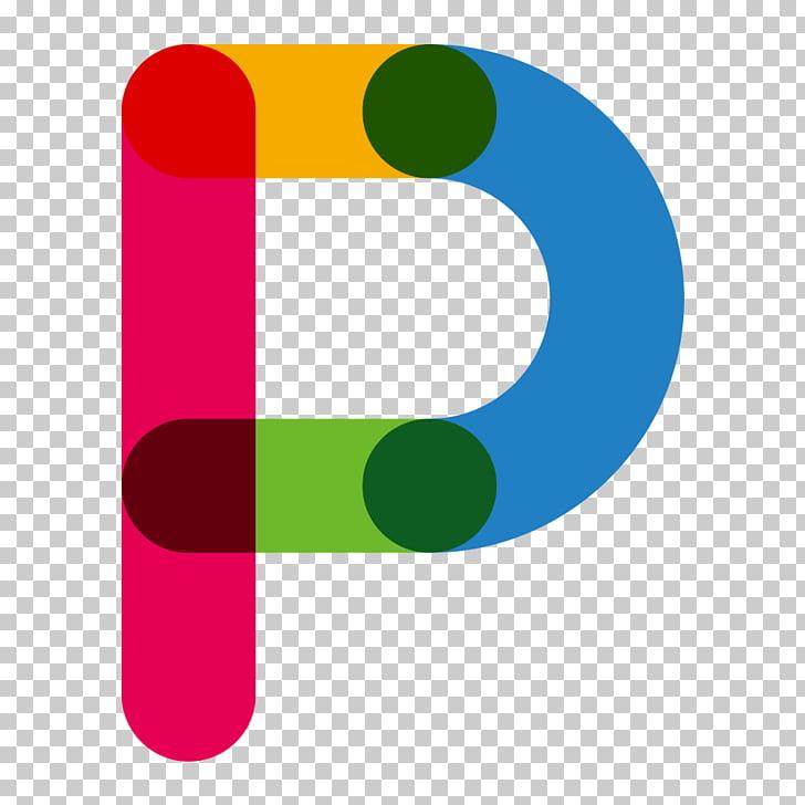 Red Blue Letter P, Color letters P, P logo PNG clipart.