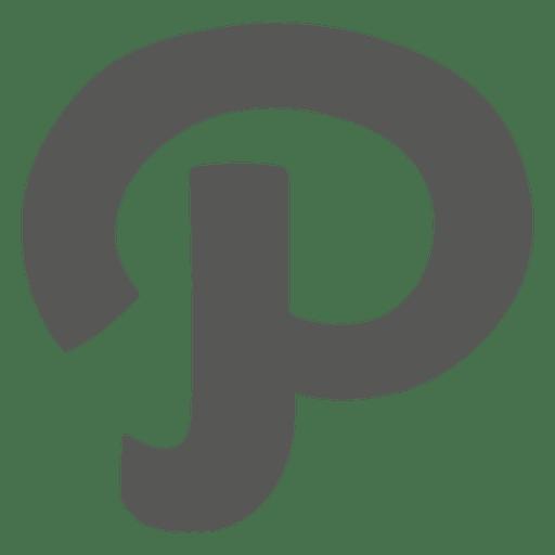 Pinterest p logo.
