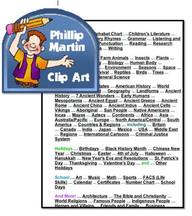 P Martin Clipart.