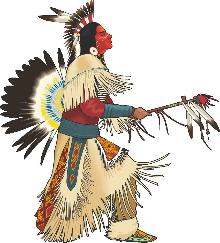 Indians clipart pow wow, Indians pow wow Transparent FREE.
