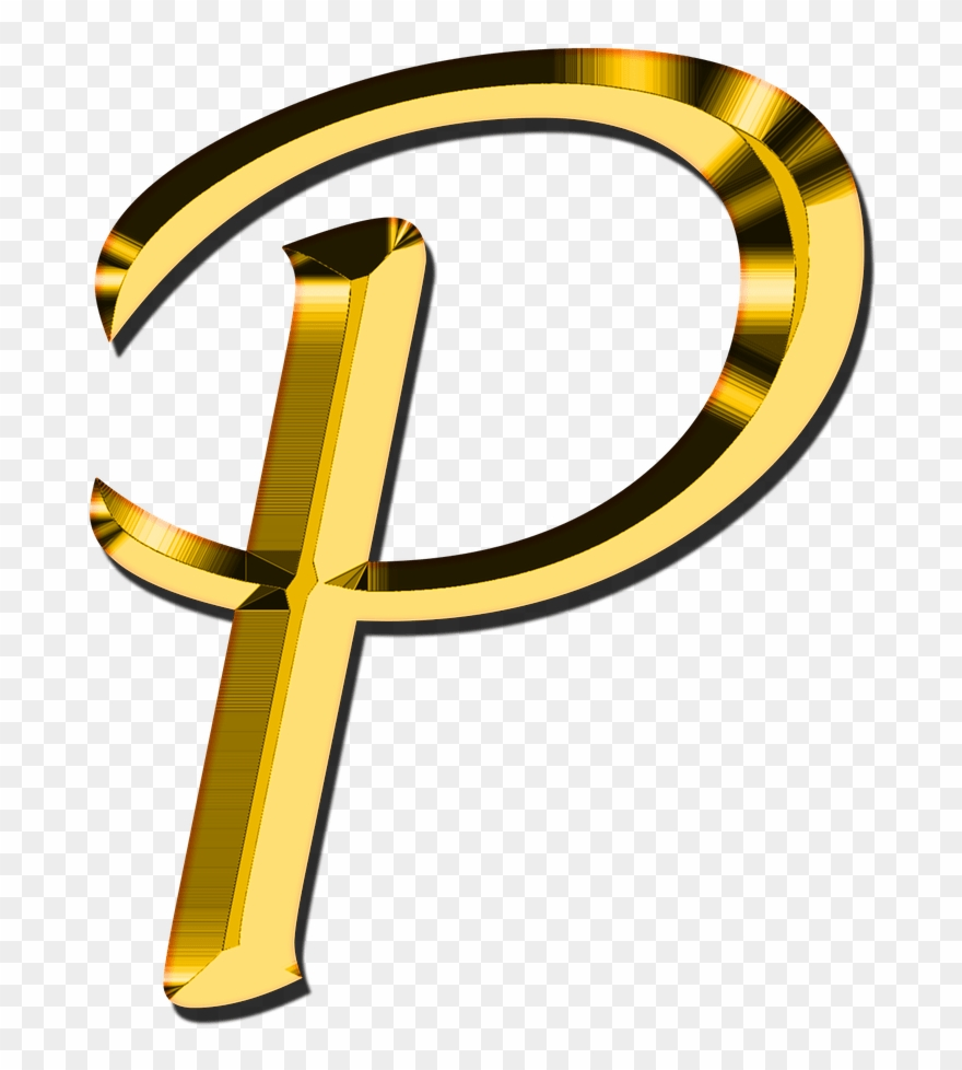Cool Letter P Png Clip Art Royalty Free Stock.