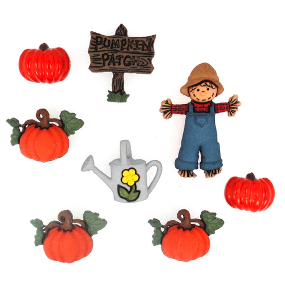 Pumpkin Patch Dress it up Buttons.