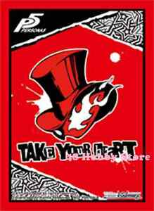 Details about Weiss Schwarz Persona 5 P5 LOGO PROMO Card Sleeves MTG Yugioh  Pokemon Persona5.