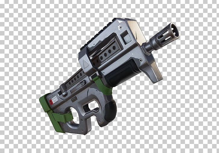 Fortnite Battle Royale FN P90 Weapon Assault Rifle PNG.