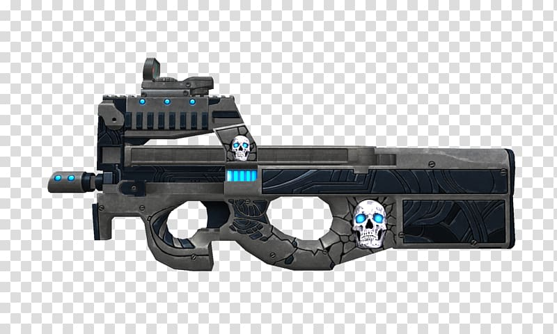 Point Blank FN P90 Ranged weapon Firearm, weapon transparent.
