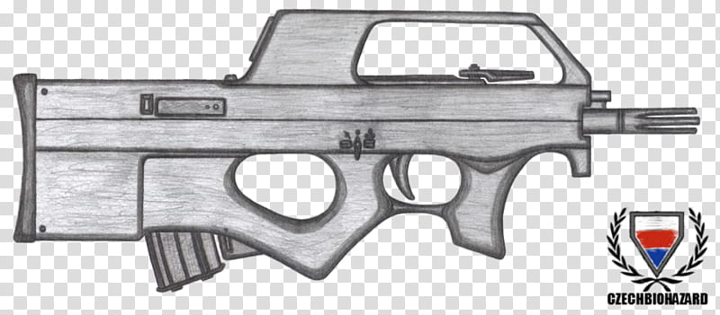 P90 transparent background PNG cliparts free download.